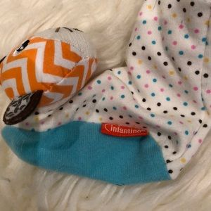 Carter's One Pieces - Bundle of long sleeve onesies & rattle booties